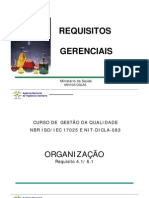 ISO 17025 - Requisitos Gerenciais