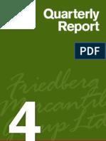 Al Friedberg Q4 Report