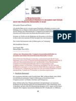 13-01-23 Anfrage eines Menschenrechts- / Computerwissenschaftschriftstellers in Jerusalem nach Schutz durch den Deutschen Botschafter in Israel