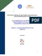 Anexo 6 Costos Unitarios de Plan Maestro