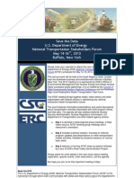 U.S. DOE National Transportation Stakeholders Forum