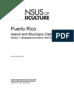 Censo Agrícola Federal Puerto Rico 2007