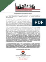 Comité Central del MIR - 24 de enero de 2013