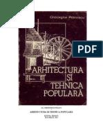 arhitectura populara