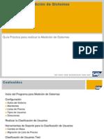 Audit - Programa medicion sistemas sap - USMM.ppt