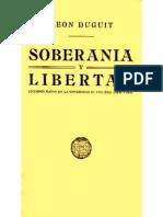 La Soberania - Leon Duguit