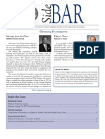 SideBAR • Published by the Federal Litigation Section of the Federal Bar Association • Winter 2013