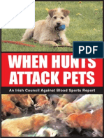 When hunts attack pets