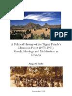 History of Tplf Phd Thesis Argawi Berhe