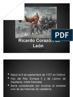 Unidad 6 Ricardo Corazón de León - Luis Felipe Ortiz Sosa