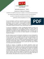 pap  -XII- DL n º 7-2013 17jan