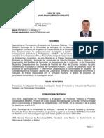 Currículo Joan Manuel Madrid Hincapié
