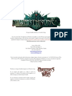 Warthrone - Reglamento