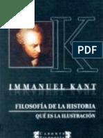 FILOSOFIA DE LA HISTORIA - Qué es la Ilustración - Immanuel Kant