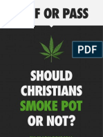 Should Christians Smoke Pot or Not?