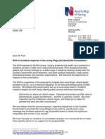 RCN Scotland Consultation Response