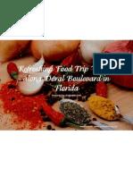 Refreshing Food Trip Venues along Doral Boulevard in Florida