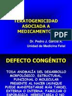 Teratogenicidad Asociada a Medicamentos