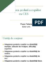 Integrarea scolara a copiilor cu CES