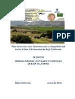 Observatorio de los Valles Vitivinícolas de Baja CaliforniaF