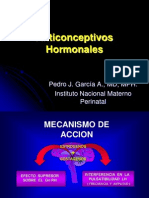 Anticoncepción Hormonal Farmacologia