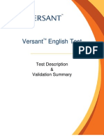 ValidationReport Versant.pdf