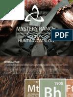 Mystery Ranch Backpacks 2013 Hunting Catalog