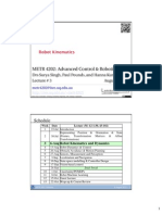 L3.Kinematics.v2-METR 4202 Advanced Control & Robotics