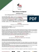 comunicato stampa proiezione Vol Special Mare Chiuso FilmStudio Roma