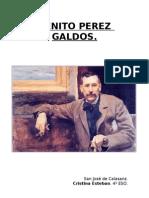 Benito Perez Galdos. Monografia.