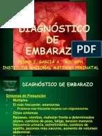 Clase 2. Diagnóstico de embarazo