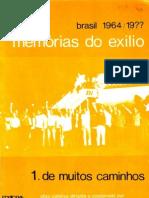 Uchôa & Ramos (ed) - Memórias do exilio
