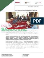 21-01-13 Boletin 1198 Roberto escribe una nueva historia en la ganadería nayarita