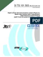 ETSI TS 101 503 V8.10.0 (2001-06)
