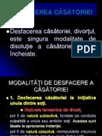 Pp 3 Desfacerea Casatoriei 2011-2012