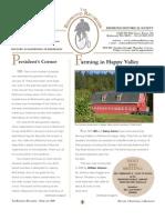 RHS Newsletter Feb 2008