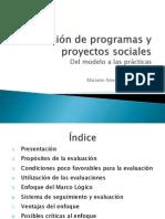 Evaluación de programas sociales