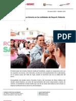 23-01-13 Boletin 1210 Hacemos Una Nueva Historia en Las Vialidades de Nayarit - Roberto