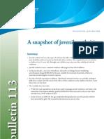 A snapshot of juvenile arthritis