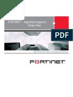Fortinet Seguridad Integral en Tiempo Real