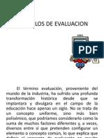 Modelos de Evaluacion Modelo Proceso