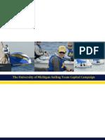 The University of Michigan Sailing Capital Campaign