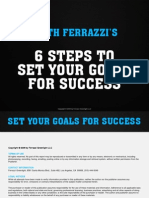 Keith Ferrazzi's 6 Steps to Set Your Goals for Success