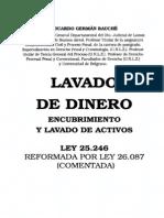 Lavado de Dinero - Encubrimiento y Lavado de Activos - Eduardo German Bauche