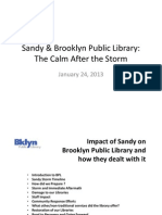 Superstorm and the Public Library