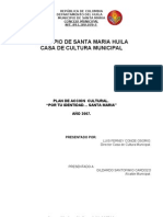 Plan de Desarrollo Cultural 2007