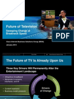 Future of Television - Sweeping Change at Breakneck Speed
