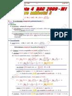 Rezolvare Completa Varianta 4 Subiect 3 m1 2009