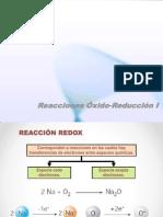 Clase 09 Reacciones Óxido-Reducción I