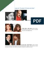 Personajes de Escobar El Patron